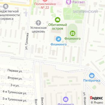 Фламинго на Яндекс.Картах