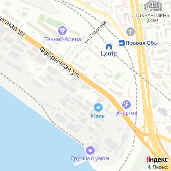 ВТТ-Обь на Яндекс.Картах