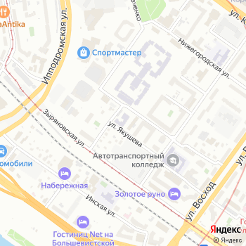 Сибпромторг на Яндекс.Картах