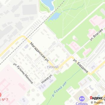 Почта с индексом 630047 на Яндекс.Картах