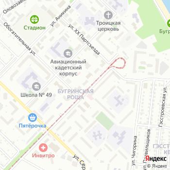 Почта с индексом 630033 на Яндекс.Картах