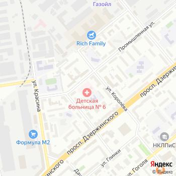 Детская городская больница №6 на Яндекс.Картах