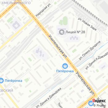 Парикмахерская на Учительской на Яндекс.Картах