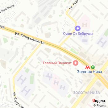 Сервис Мобайл на Яндекс.Картах