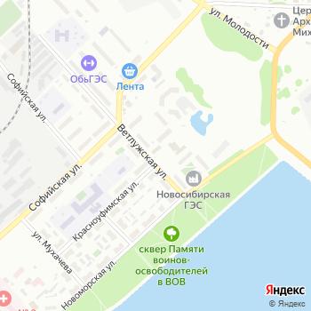 Почта с индексом 630056 на Яндекс.Картах