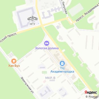 Почта с индексом 630090 на Яндекс.Картах