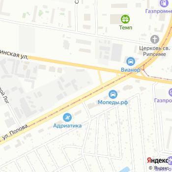 Дорогинский кирпич на Яндекс.Картах