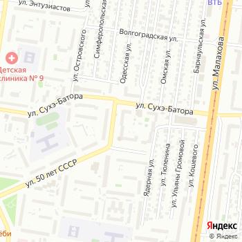 Паритет на Яндекс.Картах