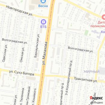 ЮММ на Яндекс.Картах