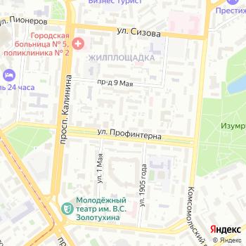Центр перевозок на Яндекс.Картах