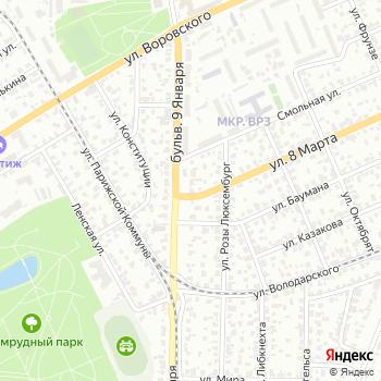 Авангард на Яндекс.Картах