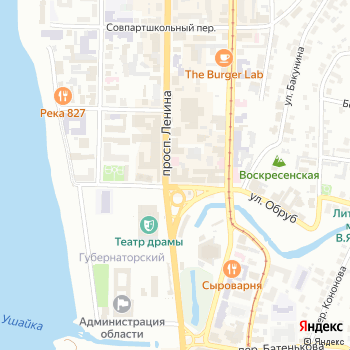 Материя на Яндекс.Картах
