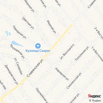 Мустанг на Яндекс.Картах