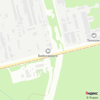 Бийскэнерго на Яндекс.Картах