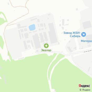Эвалар на Яндекс.Картах