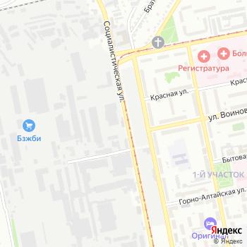 Бийский деревообрабатывающий комбинат на Яндекс.Картах
