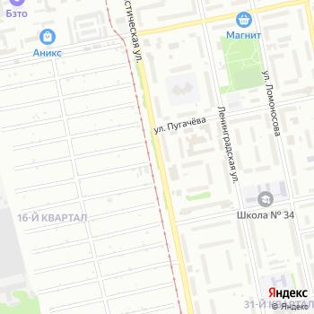 Автошанс на Яндекс.Картах