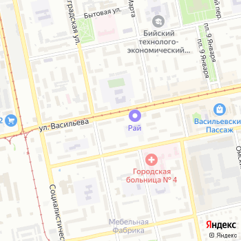 Акцепт на Яндекс.Картах