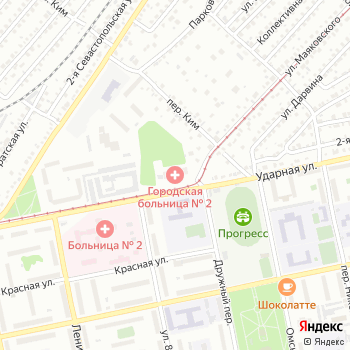 Акушерский стационар Городской больницы №2 г. Бийск на Яндекс.Картах