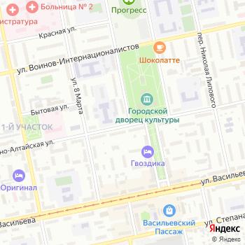 Малиновка на Яндекс.Картах
