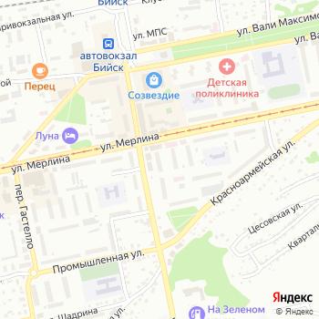 Почта с индексом 659303 на Яндекс.Картах