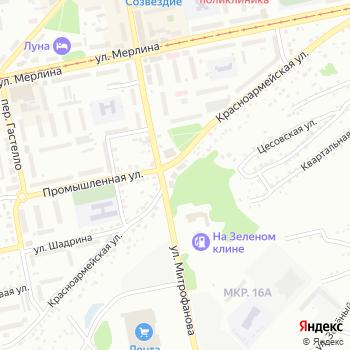 БТС на Яндекс.Картах