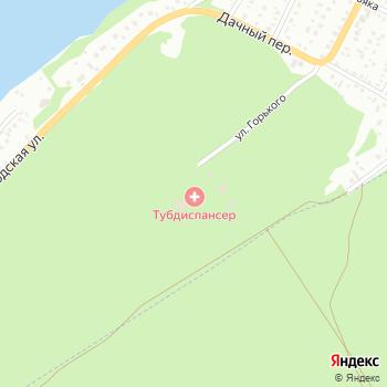 Противотуберкулезный диспансер на Яндекс.Картах