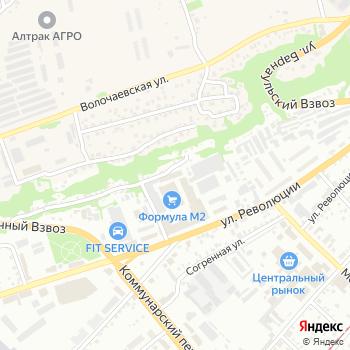 12 диванов на Яндекс.Картах
