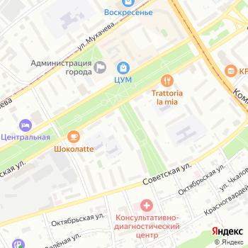 Контраст на Яндекс.Картах