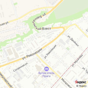 Старк на Яндекс.Картах
