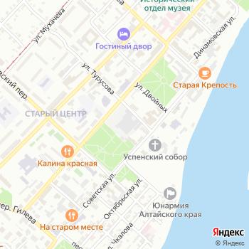 Архитектура Х на Яндекс.Картах