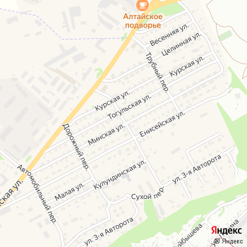 Почта с индексом 659318 на Яндекс.Картах