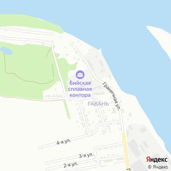 Юг на Яндекс.Картах