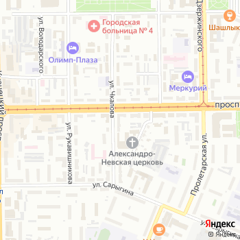 Охотничьи зори на Яндекс.Картах