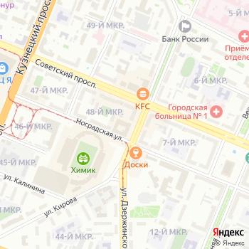 Малыш на Яндекс.Картах