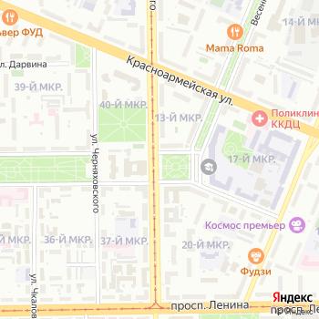 Сити-формат от ООО Сиб-Медиа на Яндекс.Картах
