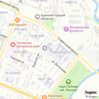 Почта с индексом 650043 на Яндекс.Картах