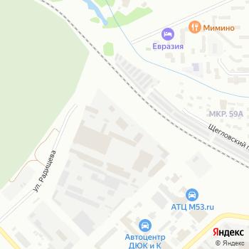 СПСК-ЛЕС на Яндекс.Картах