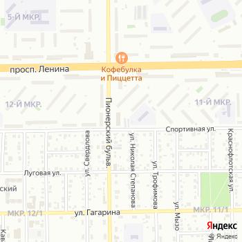 Оберегъ на Яндекс.Картах