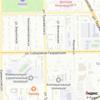 КОНСИБ на Яндекс.Картах