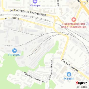Новокузнецкая дистанция пути на Яндекс.Картах
