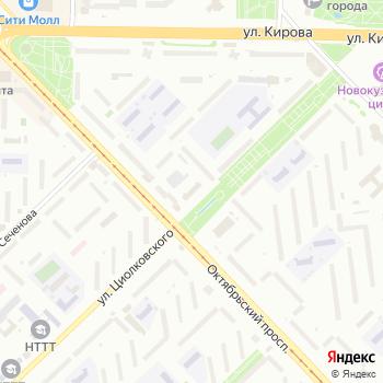 Почта с индексом 654018 на Яндекс.Картах