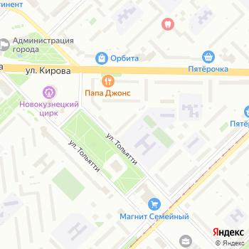 Кузбасслото на Яндекс.Картах
