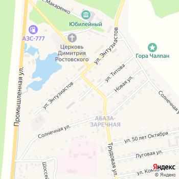 Почта с индексом 655752 на Яндекс.Картах