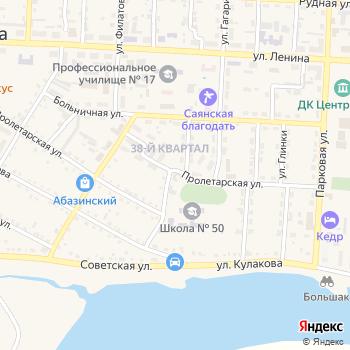 Почта с индексом 655211 на Яндекс.Картах