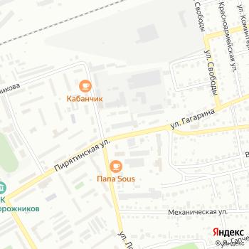 Штрафстоянка на Гагарина на Яндекс.Картах