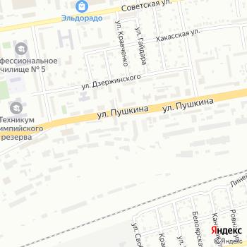 Приорирет на Яндекс.Картах
