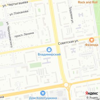 Владимирский на Яндекс.Картах