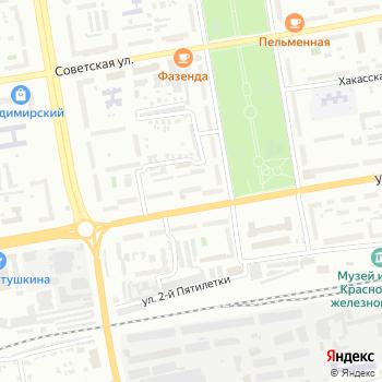 Рика на Яндекс.Картах