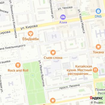 XXI Век на Яндекс.Картах